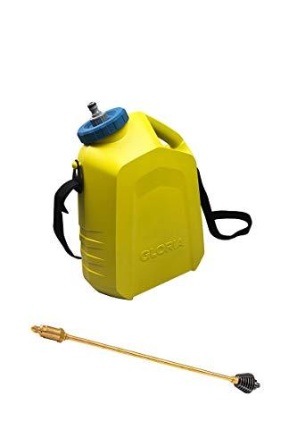 GLORIA Pflanzenschutz Set für MultiJet 18V - Zubehör für mobilen Akku-Hochdruckreiniger zur Pflanzenpflege (Messing Sprühlanze, inkl. tragbarer 10 L Behälter) - 1