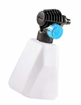 GLORIA Schaum Set für MultiJet 18V - Zubehör für mobilen Akku-Hochdruckreiniger zur Ausbringung von Reinigungsschaum (Schaumdüse mit Flachstrahl, perfekt für die Autoreinigung) - 1