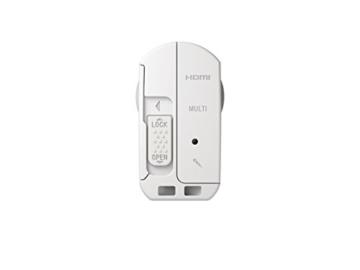 Sony FDR-X3000R 4K Action Cam mit BOSS (Exmor R CMOS Sensor, Carl Zeiss Tessar Optik, GPS, WiFi, NFC) mit RM-LVR3 Live View Remote Fernbedienung, weiß - 13