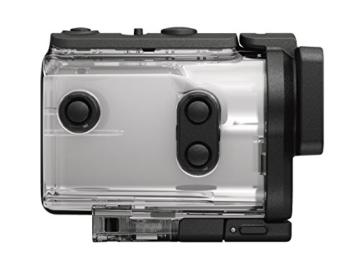 Sony FDR-X3000R 4K Action Cam mit BOSS (Exmor R CMOS Sensor, Carl Zeiss Tessar Optik, GPS, WiFi, NFC) mit RM-LVR3 Live View Remote Fernbedienung, weiß - 15