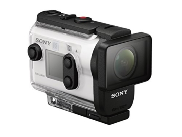 Sony FDR-X3000R 4K Action Cam mit BOSS (Exmor R CMOS Sensor, Carl Zeiss Tessar Optik, GPS, WiFi, NFC) mit RM-LVR3 Live View Remote Fernbedienung, weiß - 16