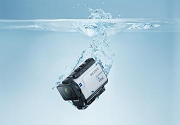 Sony FDR-X3000R 4K Action Cam mit BOSS (Exmor R CMOS Sensor, Carl Zeiss Tessar Optik, GPS, WiFi, NFC) mit RM-LVR3 Live View Remote Fernbedienung, weiß - 22