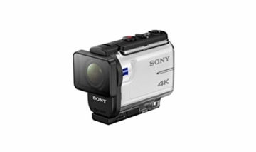 Sony FDR-X3000R 4K Action Cam mit BOSS (Exmor R CMOS Sensor, Carl Zeiss Tessar Optik, GPS, WiFi, NFC) mit RM-LVR3 Live View Remote Fernbedienung, weiß - 4
