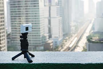 Sony FDR-X3000R 4K Action Cam mit BOSS (Exmor R CMOS Sensor, Carl Zeiss Tessar Optik, GPS, WiFi, NFC) mit RM-LVR3 Live View Remote Fernbedienung, weiß - 42