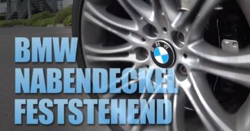 BMW Radnabenabdeckung feststehend