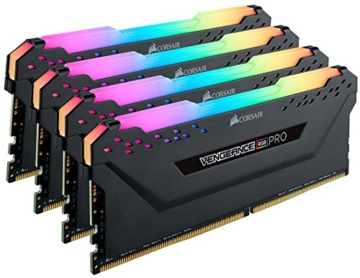 Corsair Vengeance RGB PRO 64GB (4x16GB) DDR4 3200MHz C16 XMP 2.0 Enthusiast RGB LED-Beleuchtung Speicherkit - schwarz - 2