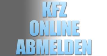 kfz online abmelden anleitung