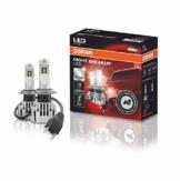 OSRAM NIGHT BREAKER H7-LED; bis zu 220 % mehr Helligkeit, erstes legales LED H7 Abblendlicht mit Straßenzulassung - 1