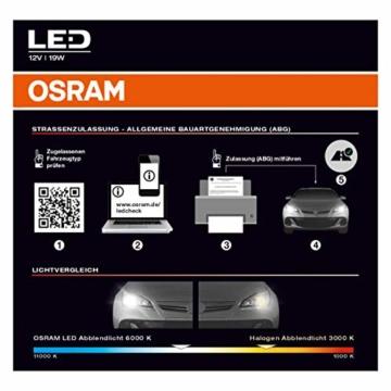 OSRAM NIGHT BREAKER H7-LED; bis zu 220 % mehr Helligkeit, erstes legales LED H7 Abblendlicht mit Straßenzulassung - 6