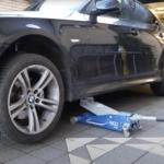 Wagenheber für tiefergelegte Autos