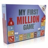 My First Million Game Gesellschaftsspiele für Erwachsene I Deutsche Version I Finanzwissen Brettspiel mit Aktien, Immobilien und Startups I Gesellschaftsspiel Erwachsene ab 16 Jahren - 1