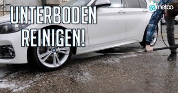 auto unterboden waschen