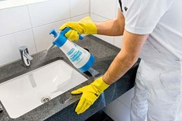 GLORIA Drucksprüher CleanMaster PERFORMANCE PF 12 | Zur Reinigung und Desinfektion | Desinfizieren mittels Sprühflasche | 1,25 L Füllinhalt | Für Mittel mit pH-Wert 2-9 | Ölfest - 4
