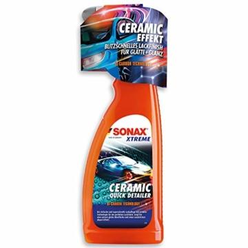 SONAX XTREME Ceramic QuickDetailer (750 ml) superschnelle Lackpflege mit Ceramic-Technologie für ein perfektes Lackfinish. Sorgt für eine extreme Glätte des Lacks | Art-Nr. 02684000 - 1