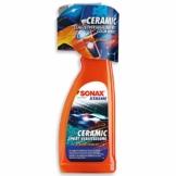 SONAX XTREME Ceramic SprayVersiegelung (750ml) überzieht den Lack mit einer Schutzbarriere. Schützt vor Schmutz & Insekten. DIE Auto Keramikversiegelung schlecht hin |Art-Nr 02574000 - 1