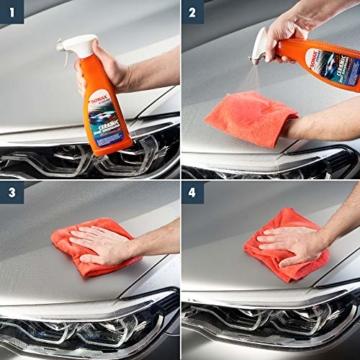 SONAX XTREME Ceramic SprayVersiegelung (750ml) überzieht den Lack mit einer Schutzbarriere. Schützt vor Schmutz & Insekten. DIE Auto Keramikversiegelung schlecht hin |Art-Nr 02574000 - 4